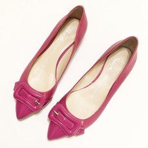 Franco Sarto Pink Slip On Shoes Women's Size 6.5